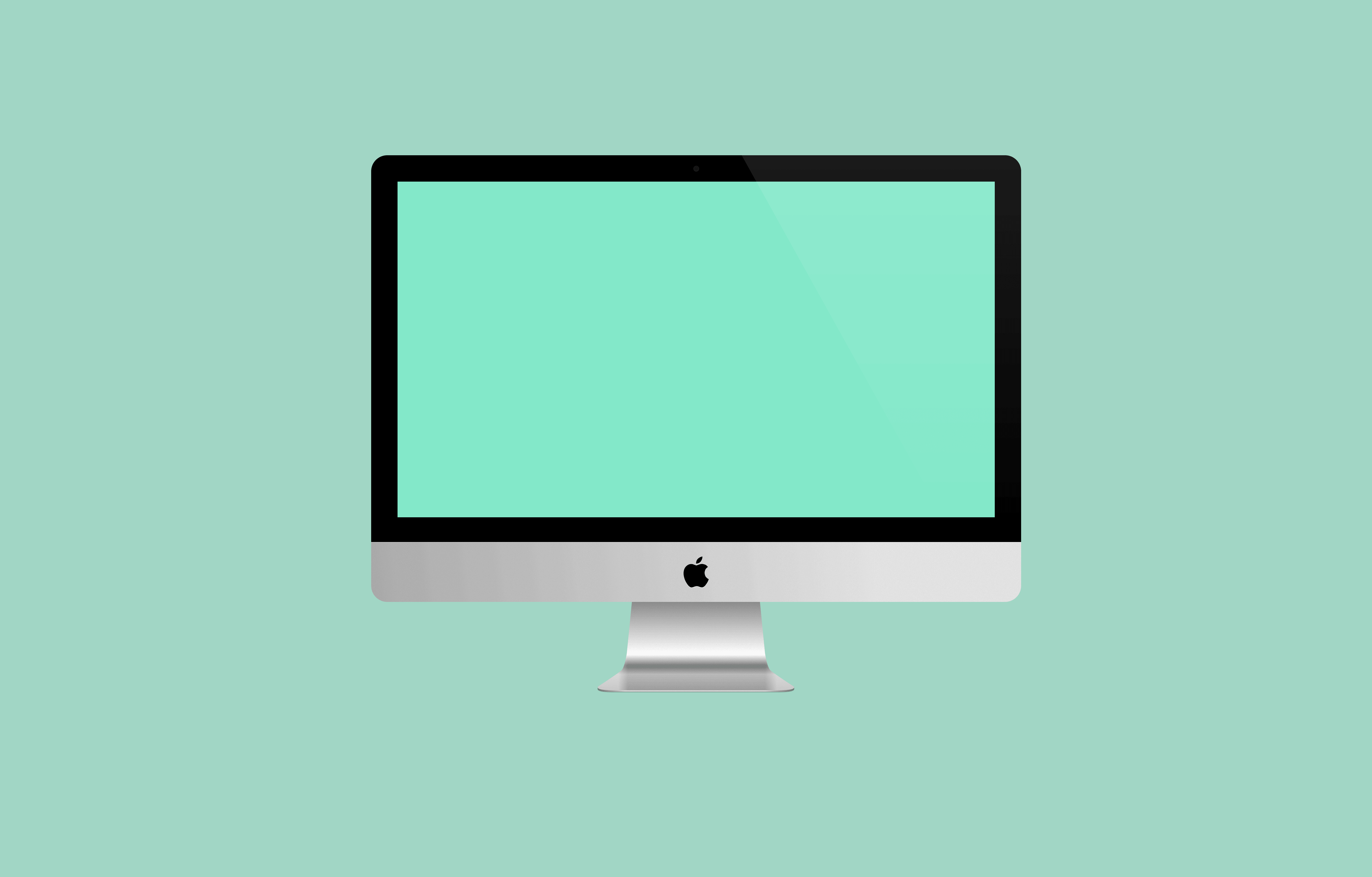Free Sketch iMac Mockup for Sketch | Freebie
